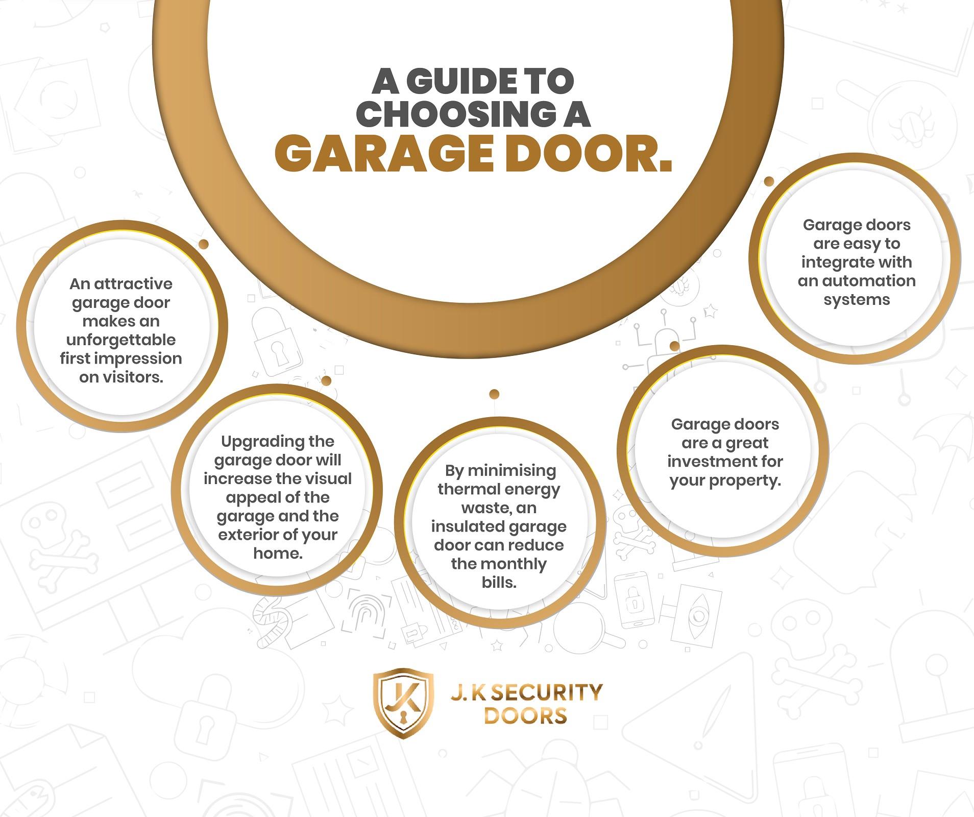 Garage Door Company  in London - J.K Security Doors