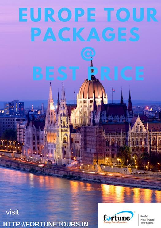 Europe Tour Packages from Kerala