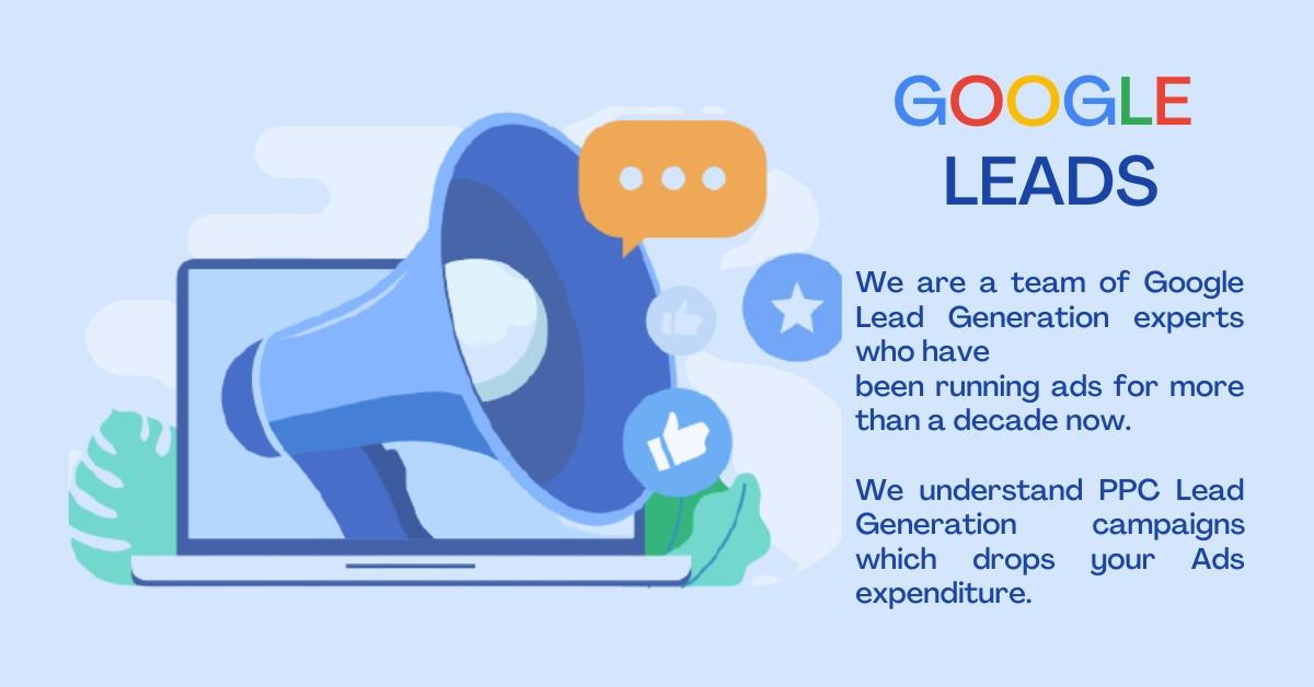 Google Lead Generation | PPC Lead Generation | Google Ads Leads