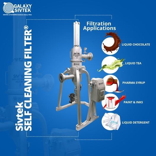 Self Cleaning Filter for liquid Applications