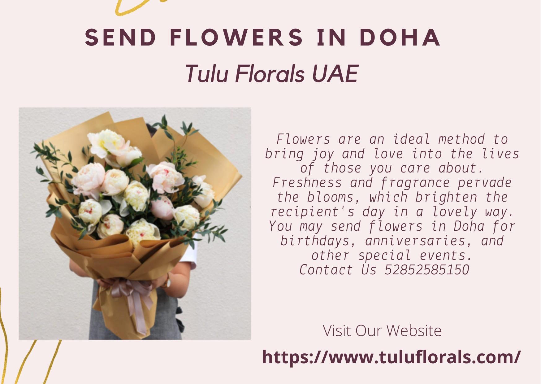 Send Flowers in Doha | Tuluflorals - UAE