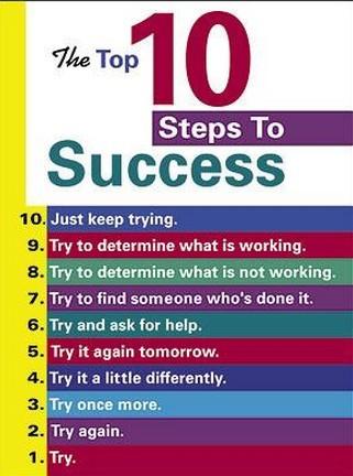 10 StepsTo Success!