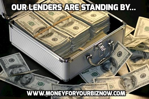 Our Lenders are Standing by