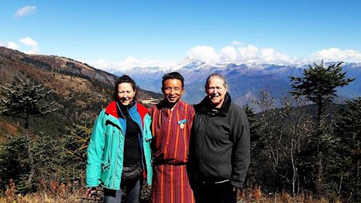 Himalayan Panorama at Chele La Pass