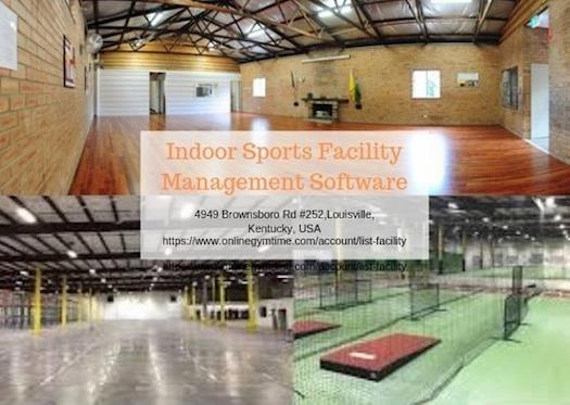 Indoor Sports Facility Management Software