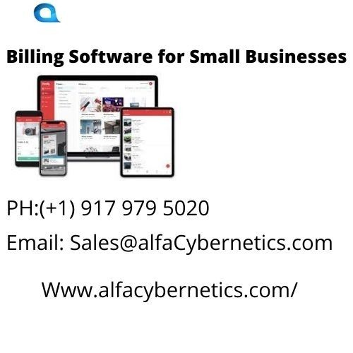 Billing Software for Small Businesses