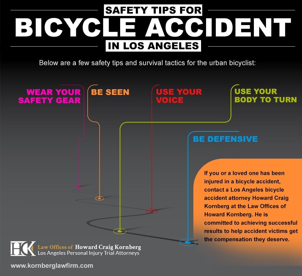 Safety Tips For Bicycle Accident In Los Angeles