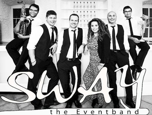 Sway-Band besteht aus vier professionellen Musikern,