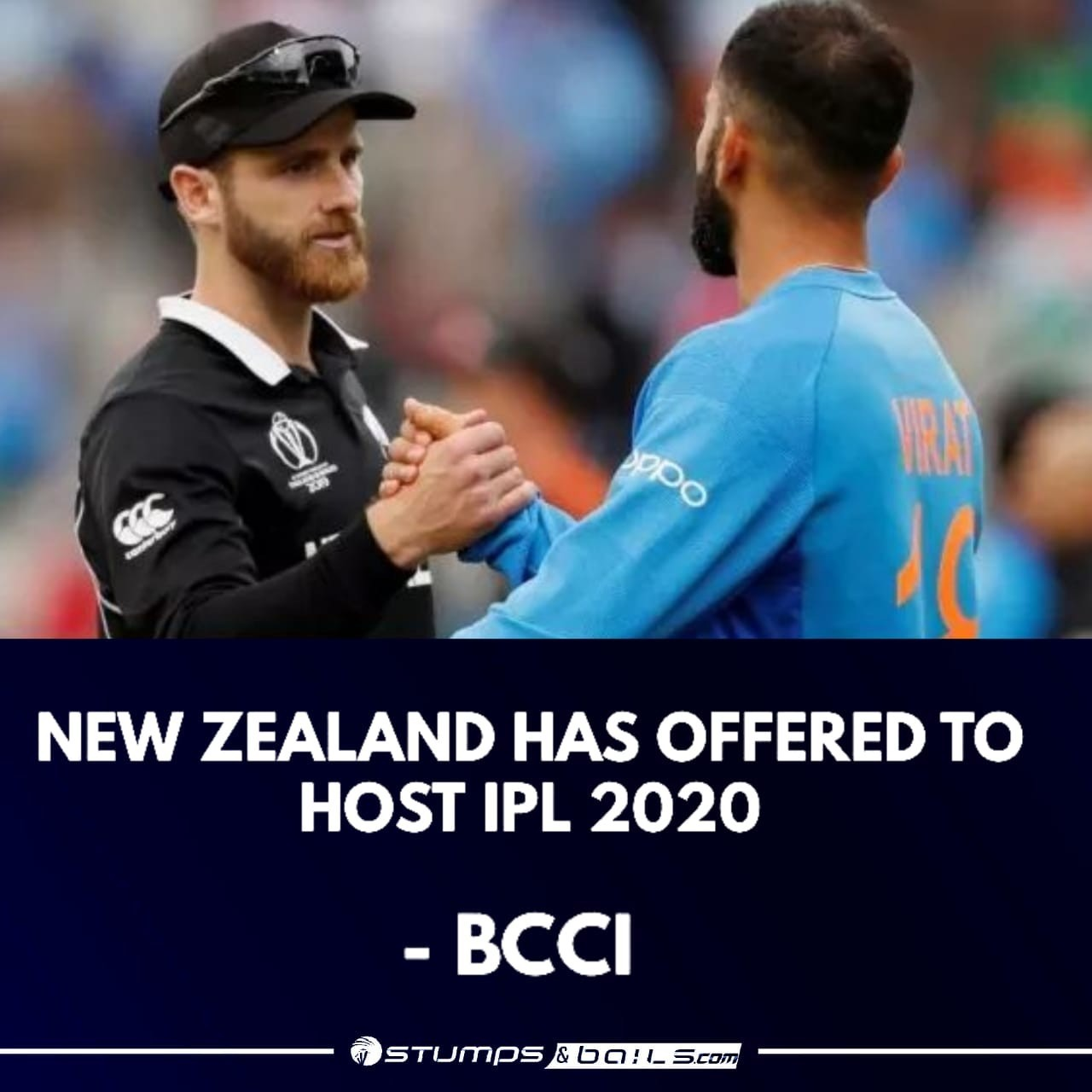New Zealand Offers To Host IPL 2020 Season - Indian Premier League
