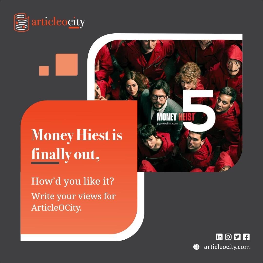Share views on Money Heist
