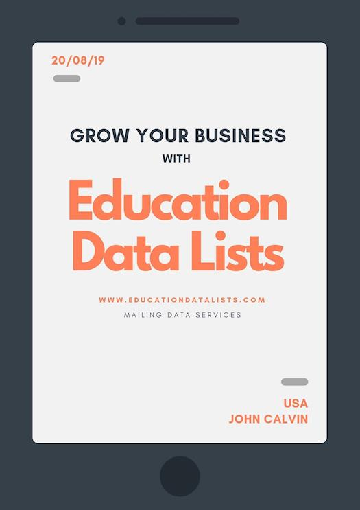 Education Data Lists