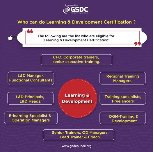 Who can do Learning & Development Certification?