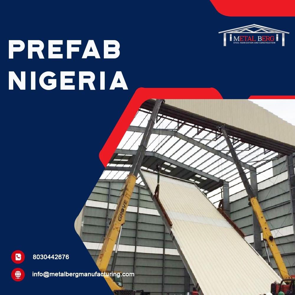 We are best Prefabrication Steel Building in Nigeria