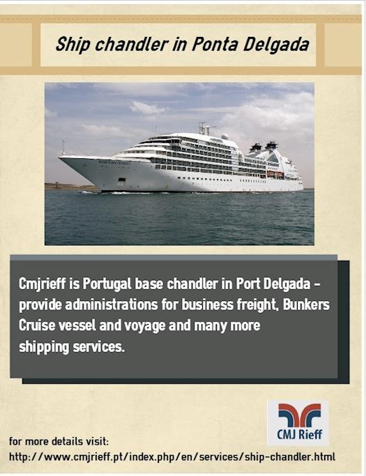 Ship chandler in Ponta Delgada