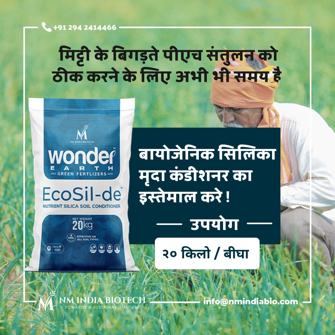 Best soil conditioner products at affordable price - NM India Biotech