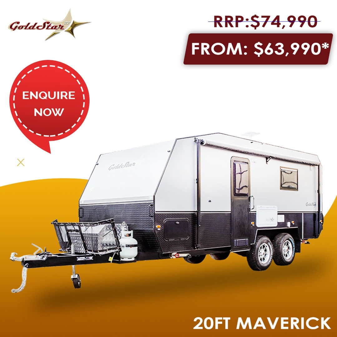 20 FT Multi-Terrain Maverick Caravan For Sale | GoldStar RV Adelaide
