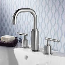 High Arc Widespread Bathroom Faucet