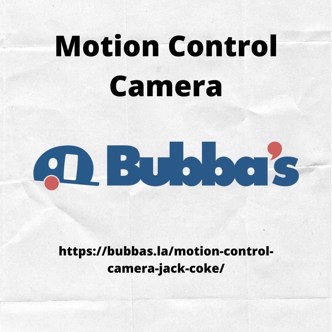 Motion Control Camera