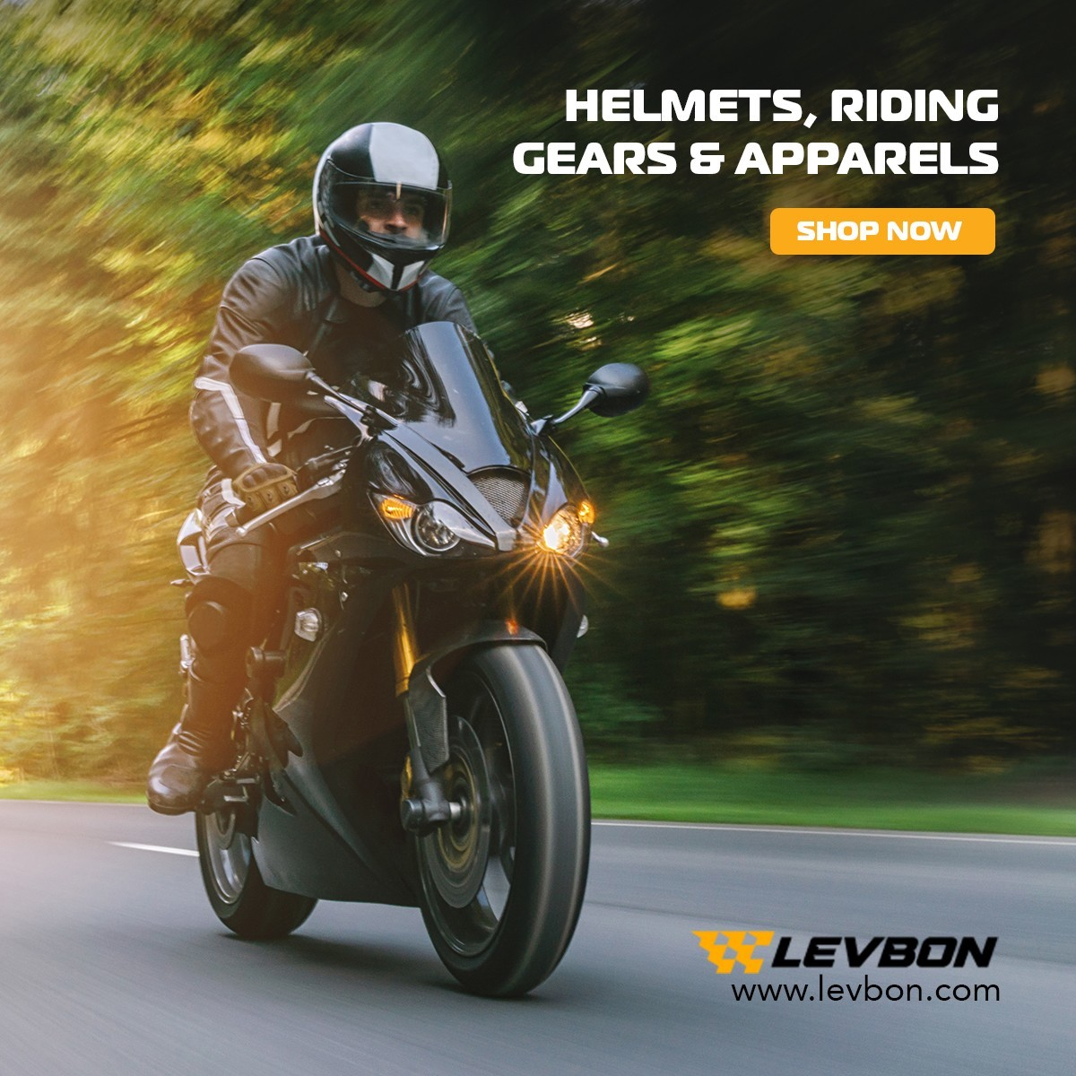 Motorcycle Gear & Accessories - LevBon