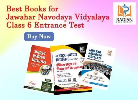 Best books for Jawahar Navodaya Vidyalaya class 6
