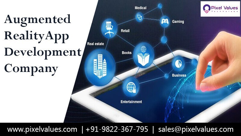 AR App Development Company - Pixel Values Technolabs