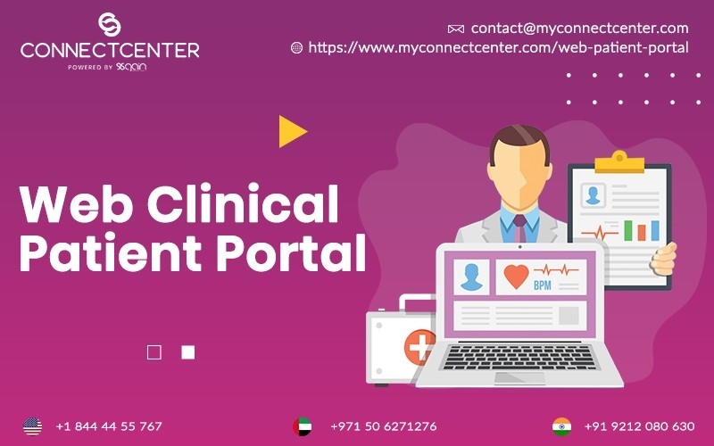 Web Clinical Patient Portal in USA | CONNECTCENTER