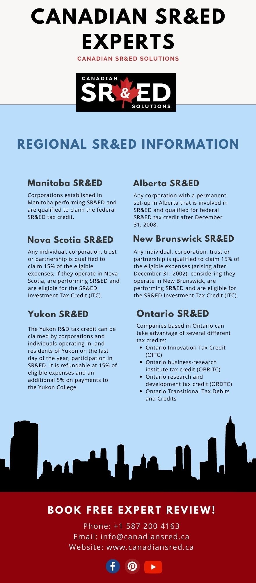 Canadian SR&ED Experts   Canadian SR&ED