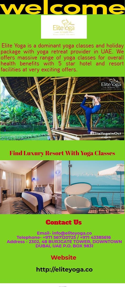 Exciting Holiday Package With Yoga Retreat
