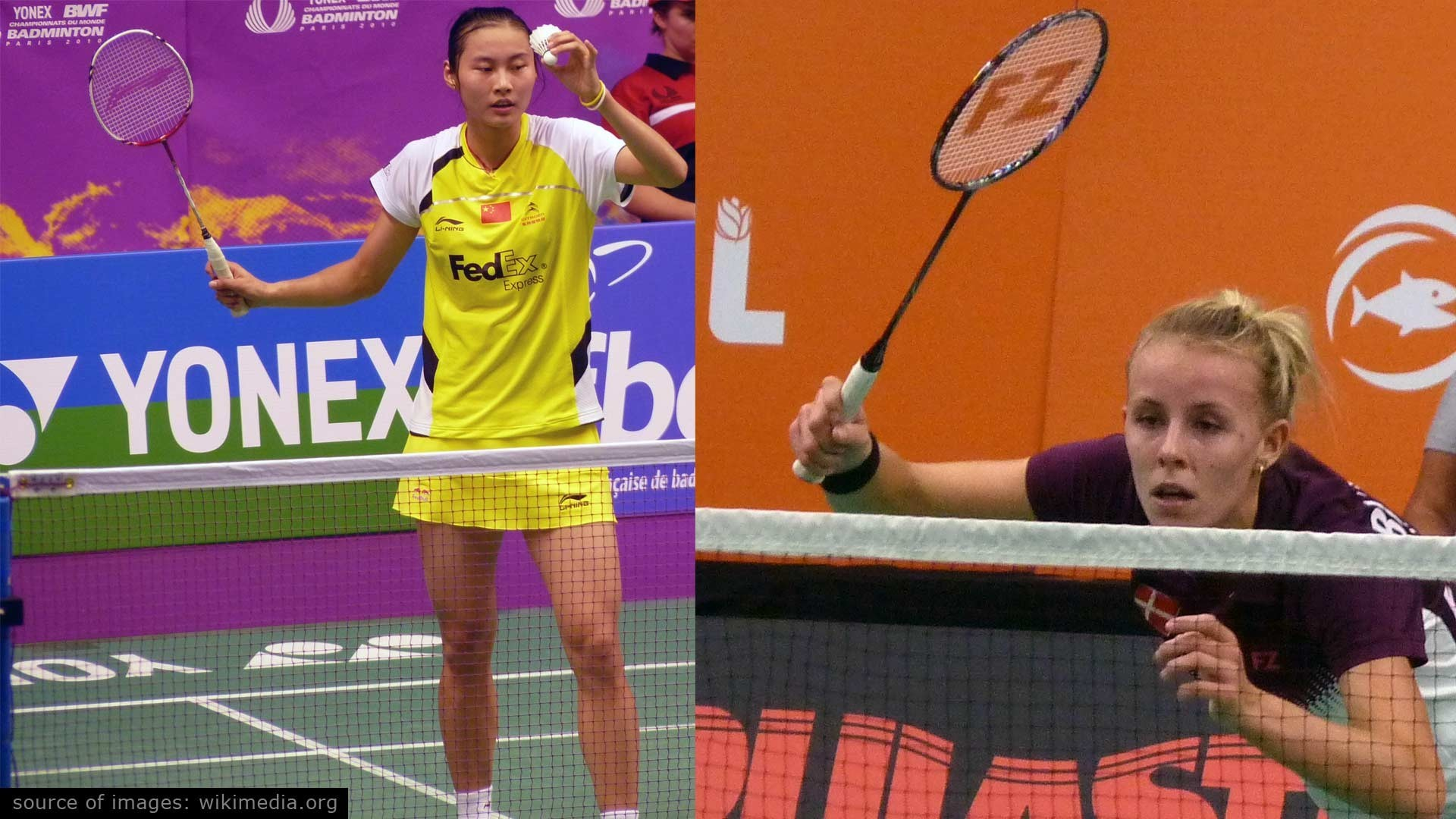 Tallest Female Badminton Players