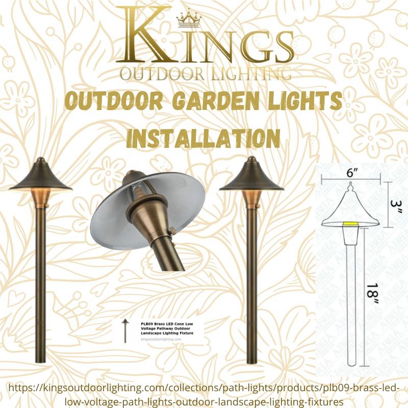 Outdoor Garden Lights Installation | Kingsoutdoorlighting