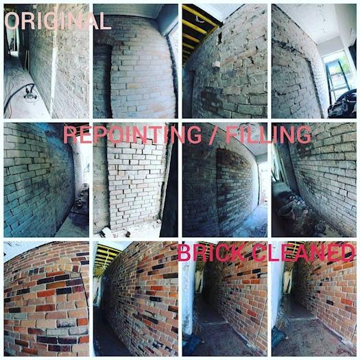 Newtown Brick Restoration Project