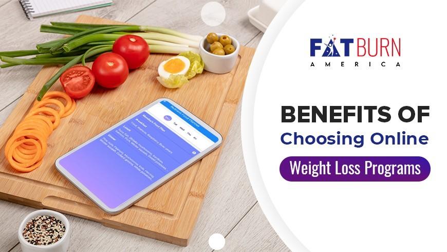 Benefits of Online Weight Loss Program | Fat Burn America
