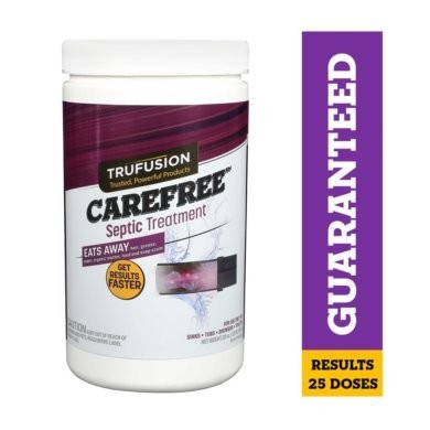 Carefree Septic Tank Treatment by TruFusion™