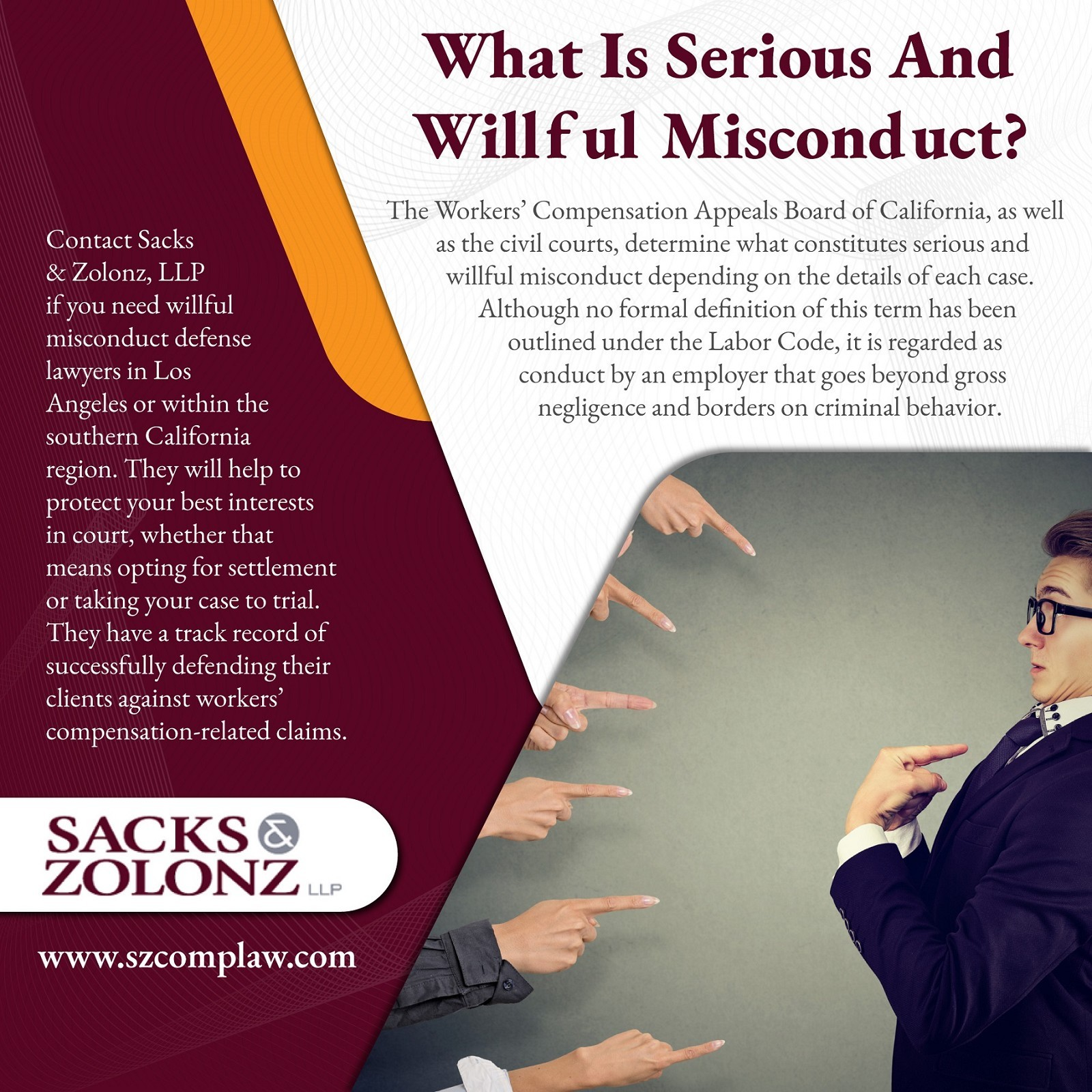 What Is Serious And Willful Misconduct?