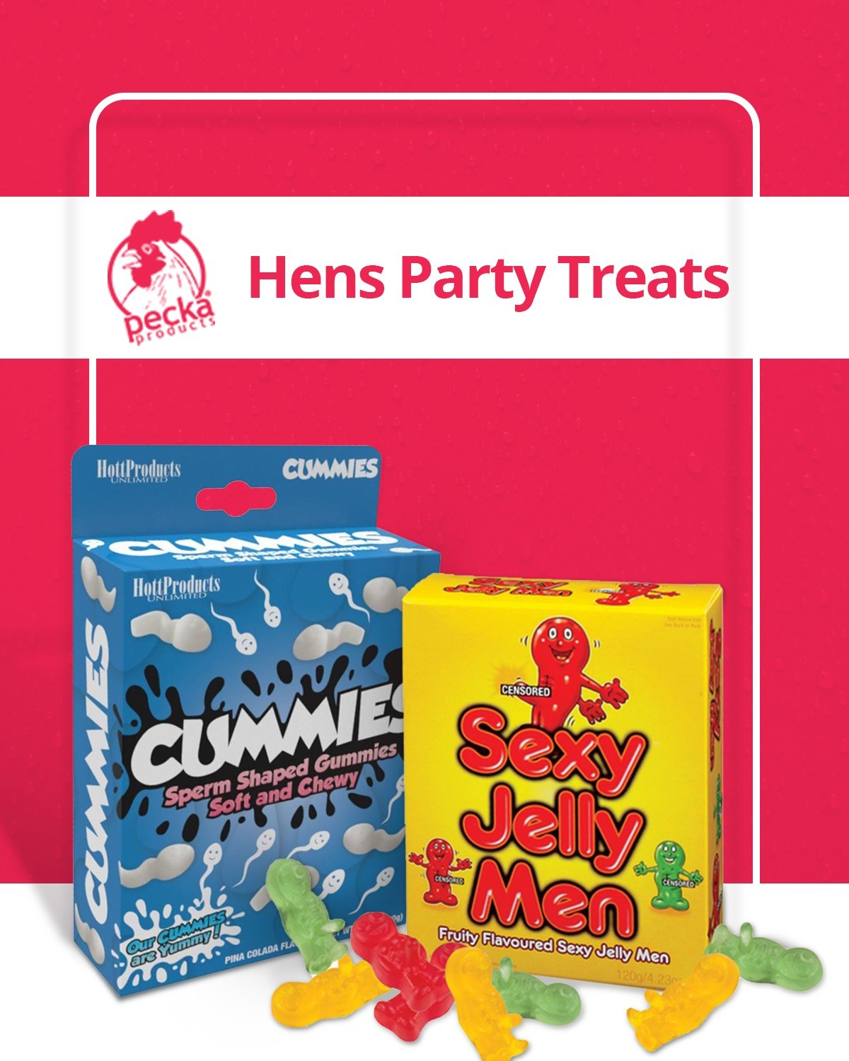 Hens Night Treats, Hens Night Games, Hens Party Ideas & More