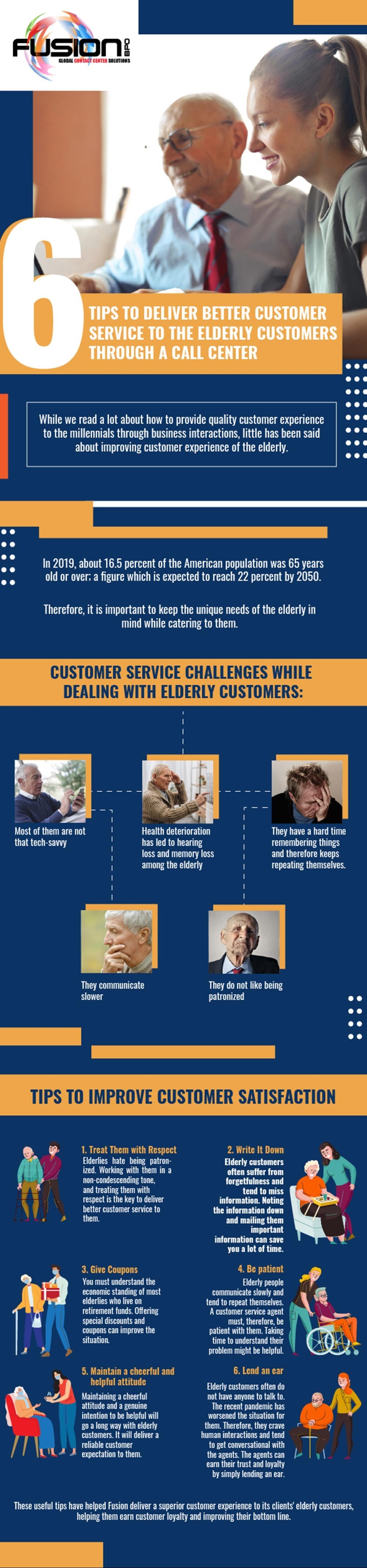 6 Ways To Provide The Elderly Customers With Quality Customer Experience