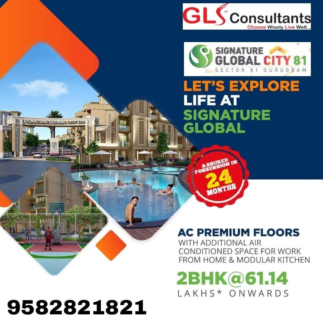 Signature Global City Luxury Independent Floors Sector 81 Gurgaon