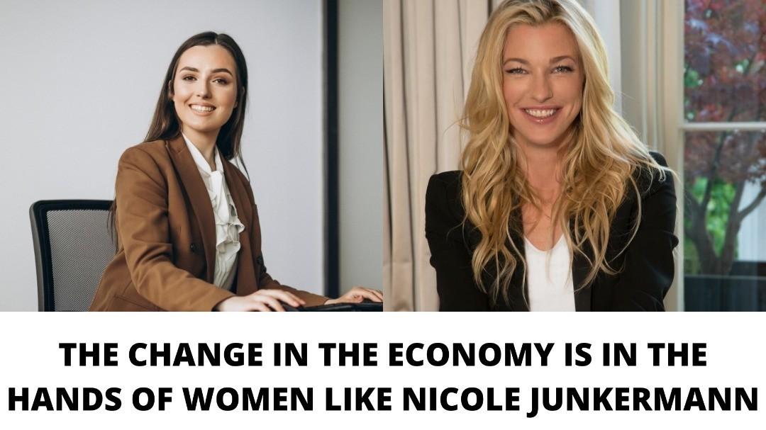 Nicole Junkermann Business woman 2021