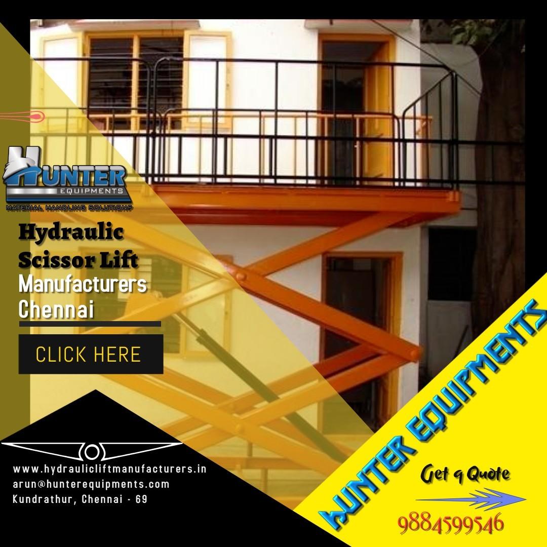 Hydraulic Scissor Lift Manufacturers in Chennai