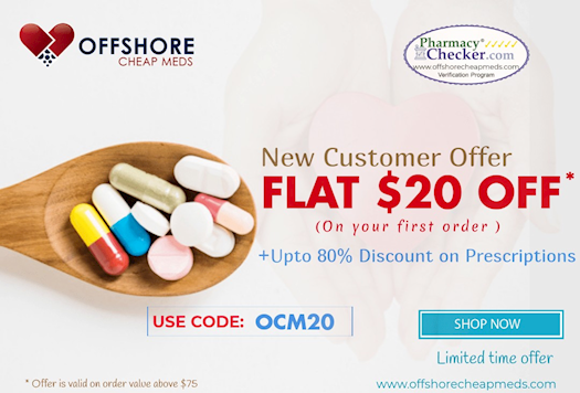 Offers on Medication for new customers - Offshore cheap meds