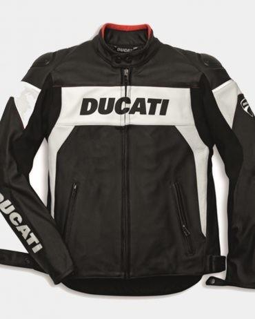 Ducati Replica Hi-Tech Men Motorcycle leather jacket
