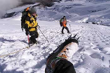 Chimborazo Climbing Ecuador