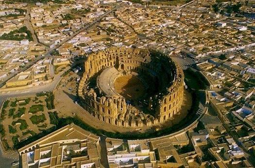Amphitheater of El Djem