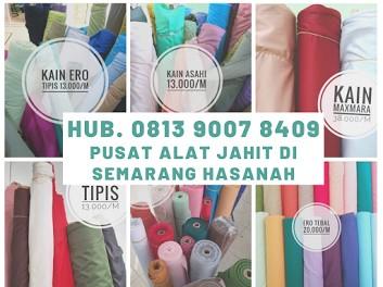 Hub. 0813 9007 8409, Toko Alat Jahit Semarang Hasanah