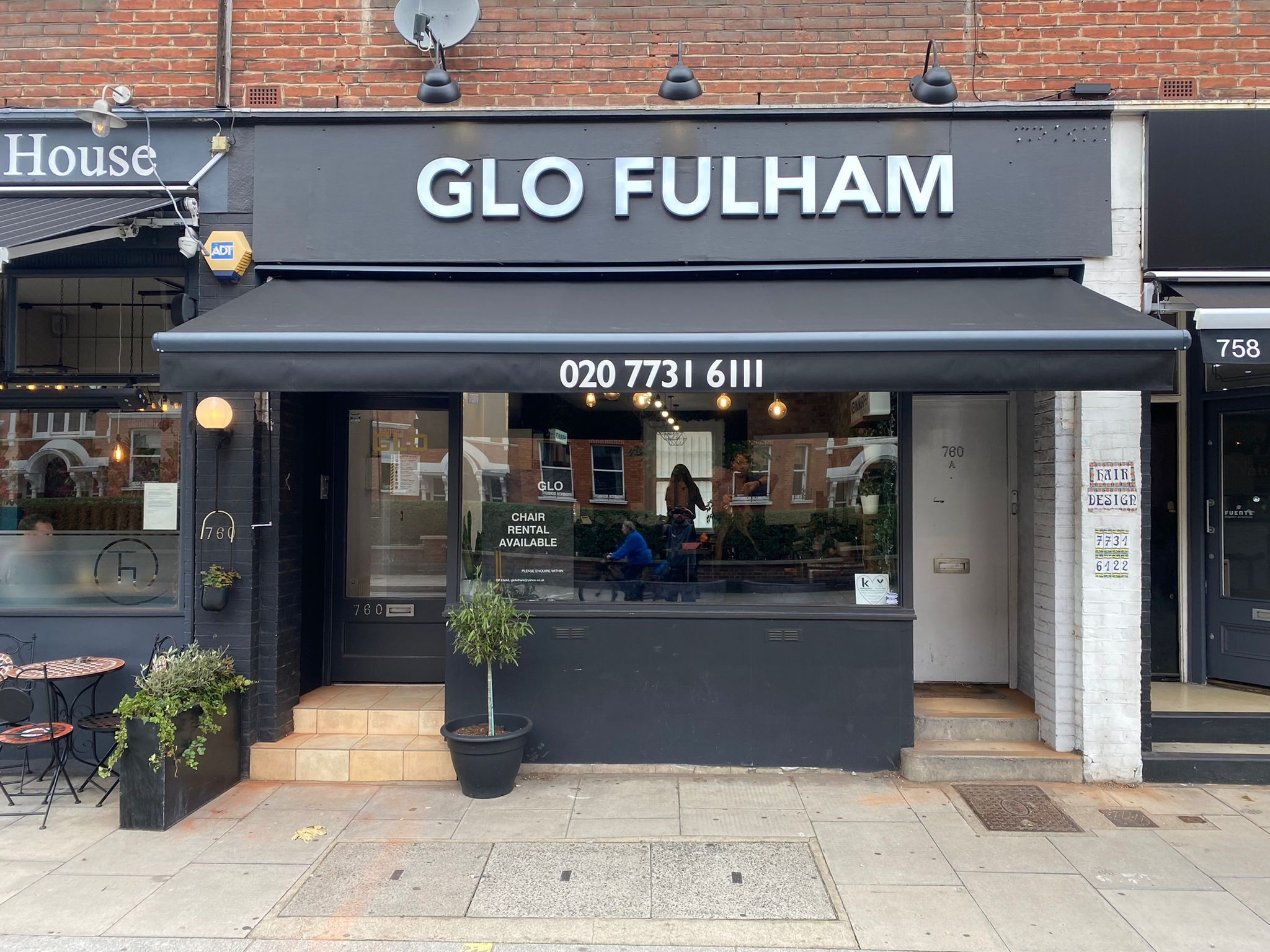 Glo Beauty Salon Has New Commercial Awning