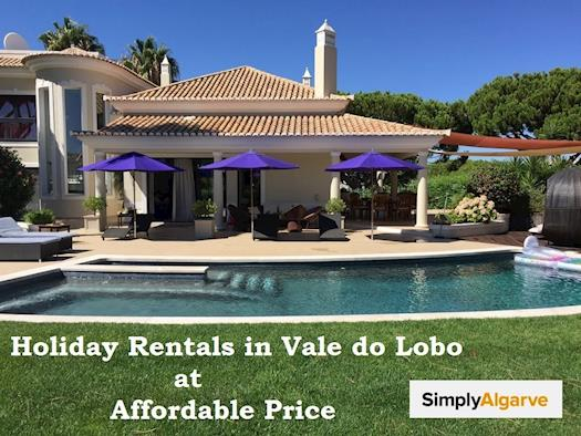 Holiday Rentals in Vale do Lobo at Affordable Price