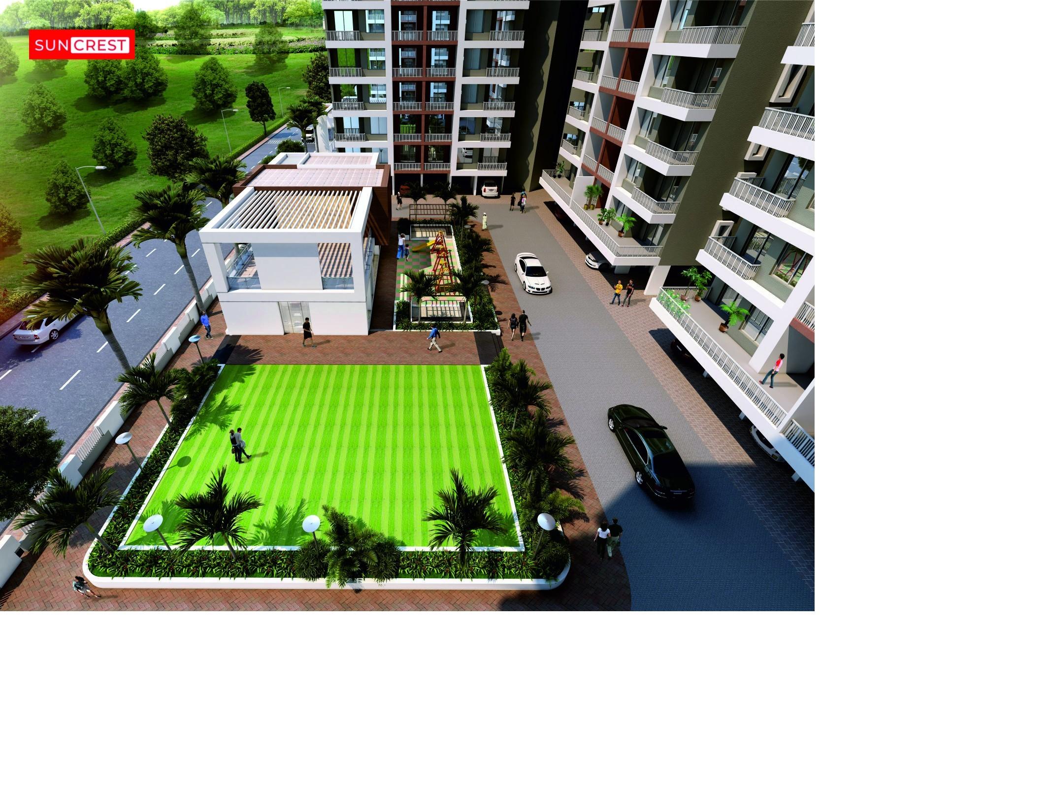 2 Bhk Flats in Dhayari Pune | Sun Crest - Mittal Builders Pune
