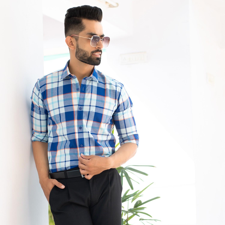 Buy Gingham Shirt For Men At Super Affordable Price