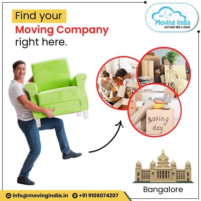 Moving India - Best Packers and Movers in Bangalore