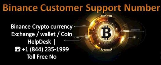 Binance Customer Support Number +1 (844) 235-1999 TollFree Number